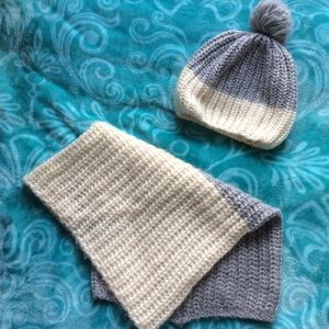 Winter Scarf and Hat